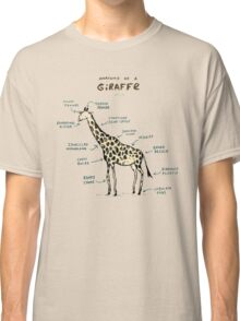 Anatomy of a Giraffe Classic T-Shirt