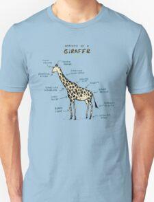 Anatomy of a Giraffe T-Shirt