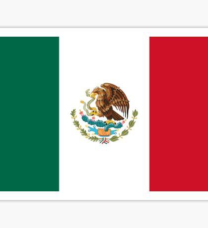 Mexcian Flag - World Cup Football - Mexico T-Shirt Duvet Sticker Sticker