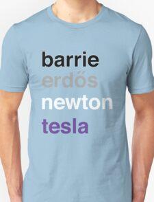 barrie erdős newton tesla T-Shirt