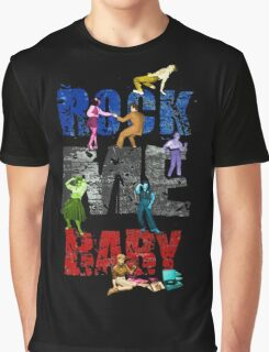 Rock Me Baby Logo Graphic T-Shirt