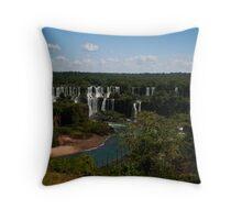Iguaçu Falls, Brazil Throw Pillow