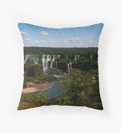 Iguaçu Falls, Brazil Throw Pillow