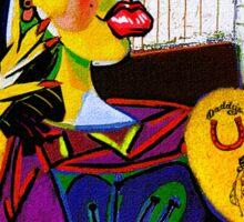 Amy as Portrait of Dora Maar Sticker