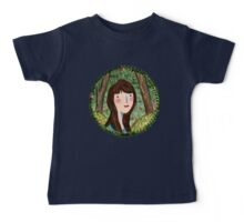 Self Portrait in Woodland Baby Tee