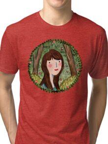 Self Portrait in Woodland Tri-blend T-Shirt