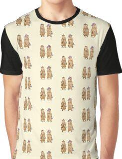 Bear Couple Graphic T-Shirt