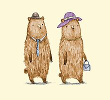 Bear Couple by Sophie Corrigan