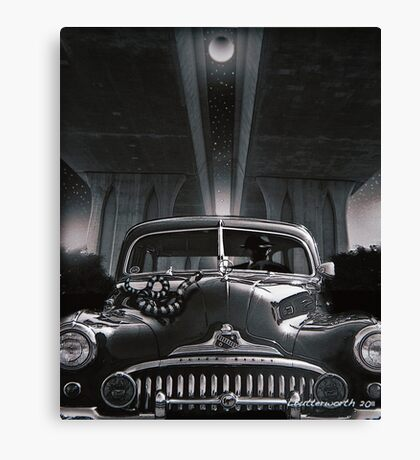 THE SNAKE Canvas Print