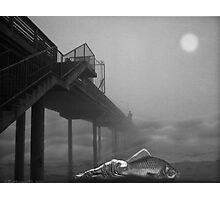MOONLIGHT BEACH Photographic Print