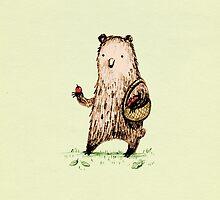 Apple Pickin' Bear by Sophie Corrigan