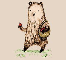 Apple Pickin' Bear Unisex T-Shirt