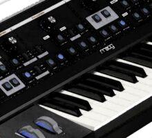 Moog Little Phatty Synthesizer Sticker