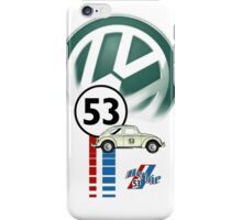Herbie THE LOVE BUG CAR VW iphone cased iPhone Case/Skin