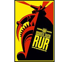 Rossum's Universal Robots (R.U.R.) Poster (PD) Photographic Print