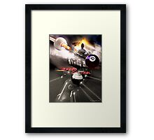 Speed Control Framed Print
