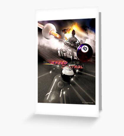 Speed Control Greeting Card