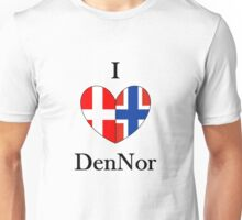I heart DenNor Unisex T-Shirt
