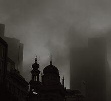 Melbourne Skyline by Andrew  Makowiecki