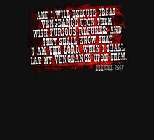 Ezekiel 25:17 Bible Quote Design Unisex T-Shirt