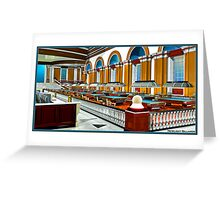 New Light Billiards Greeting Card
