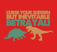 Curse your sudden but inevitable betrayal! One Piece - Short Sleeve