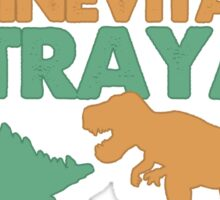 Curse your sudden but inevitable betrayal! Sticker