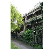 Parkville Polychromatic Terracehouses, Melbourne Photographic Print