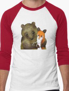 Timothy & Foxy Men's Baseball ¾ T-Shirt