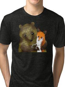 Timothy & Foxy Tri-blend T-Shirt
