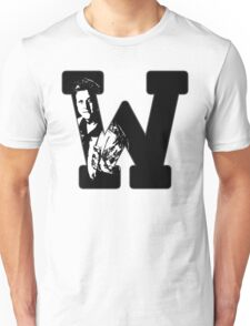 W is for Wash Unisex T-Shirt