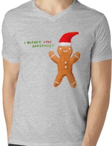 I Bloody Love Christmas! Mens V-Neck T-Shirt