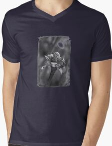 Tropical Flower Mens V-Neck T-Shirt