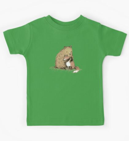 Grizzly Hugs Kids Tee
