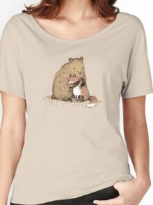 Grizzly Hugs Women's Relaxed Fit T-Shirt