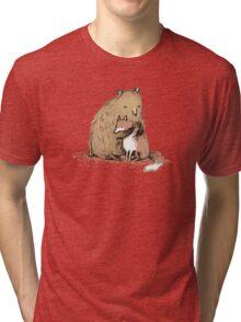 Grizzly Hugs Tri-blend T-Shirt