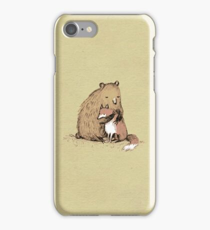 Grizzly Hugs iPhone Case/Skin