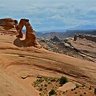 Delicate Arch, through an Arch by EarthPhoenix