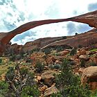 Landscape Arch by EarthPhoenix