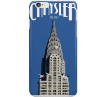 Chrysler Building 1920 Style Poster iPhone Case/Skin