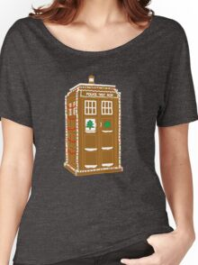 Gingerbread Tardis Women's Relaxed Fit T-Shirt