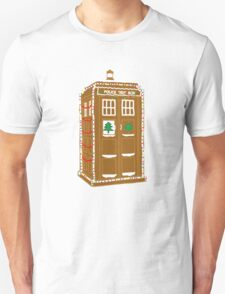 Gingerbread Tardis T-Shirt