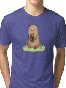 Bear Bouquet Tri-blend T-Shirt