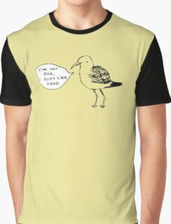 Seagulls Aren't Evil Graphic T-Shirt