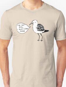 Seagulls Aren't Evil T-Shirt