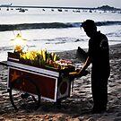 Bali Corn Man by Luke Donegan