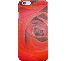 Valentine Red Rose Heart shaped iPhone Case/Skin