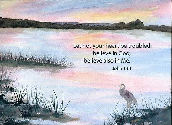 Comfort - John 14:1 by Diane Hall