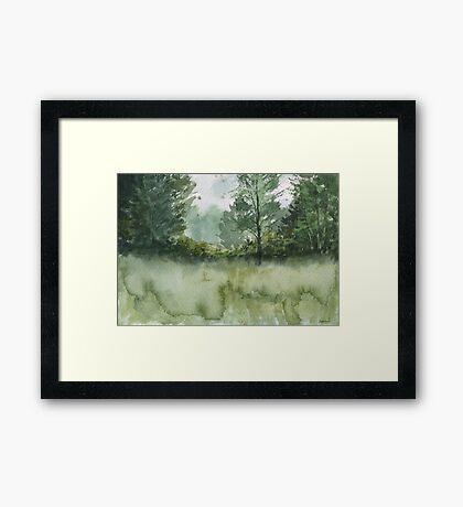 Plein Air 1 Framed Print