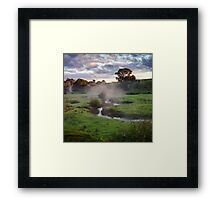 Morning Perfection Framed Print